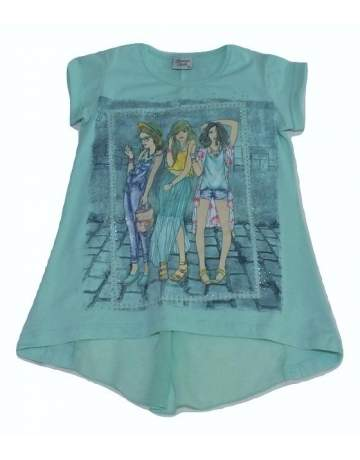 Tricou verde Breeze